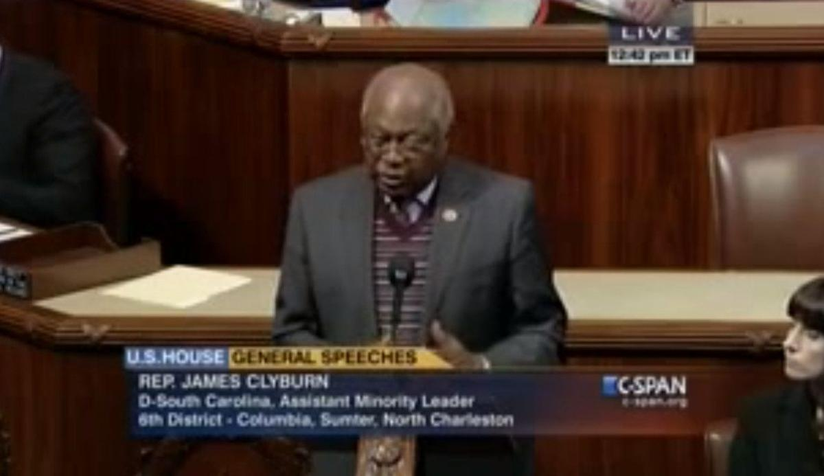 Jim Clyburn reads Marjory Wentworth's poem into Congressional Record No time for poem at Haley inaugural Poet laureate writes of state's painful history with racism