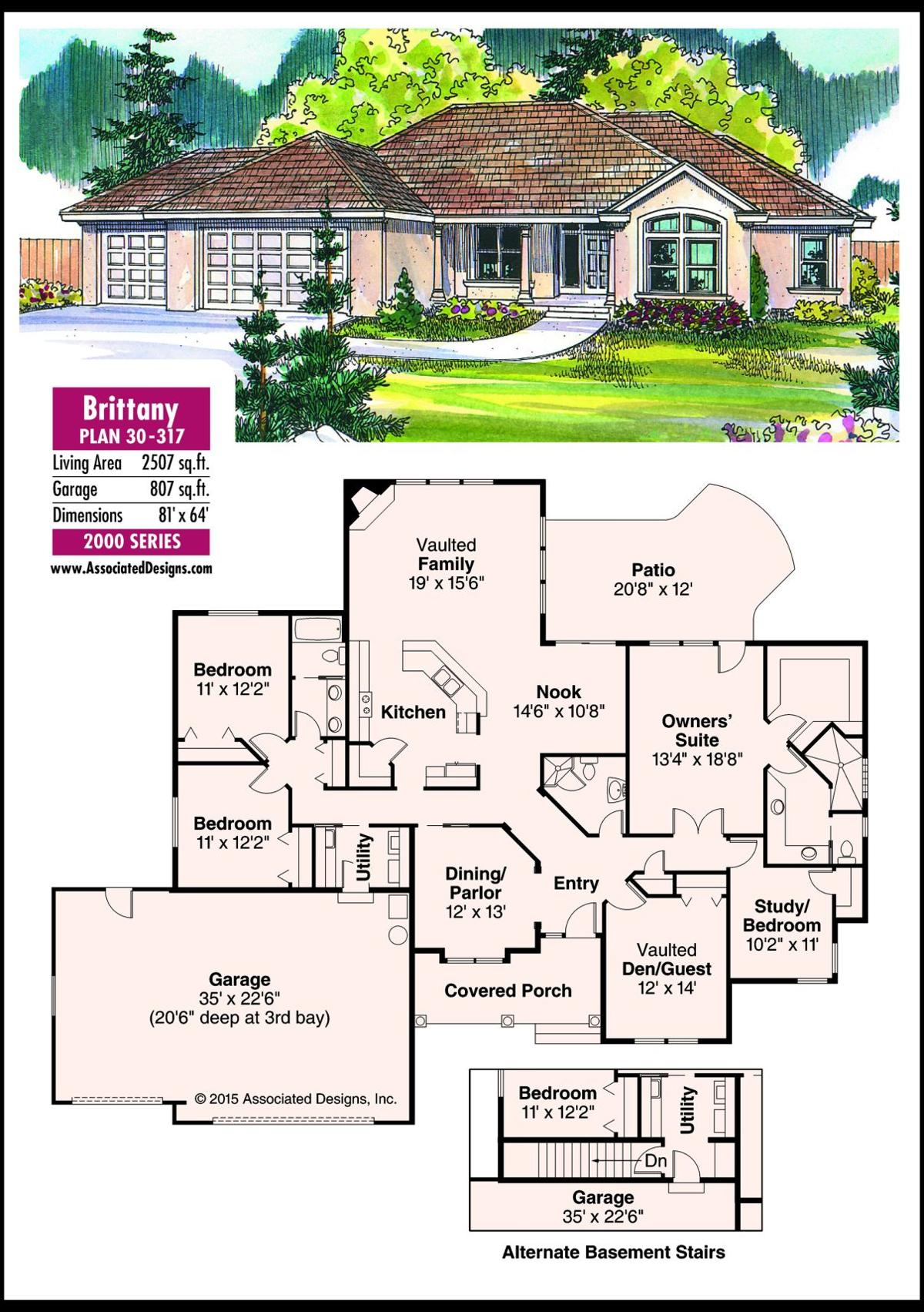 This week's house plan Brittany 30-317