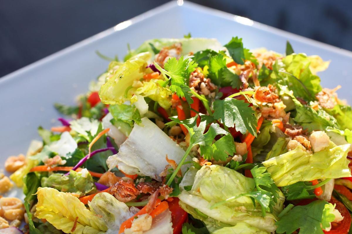 Cilantro in the raw in Bon Banh Mi salad
