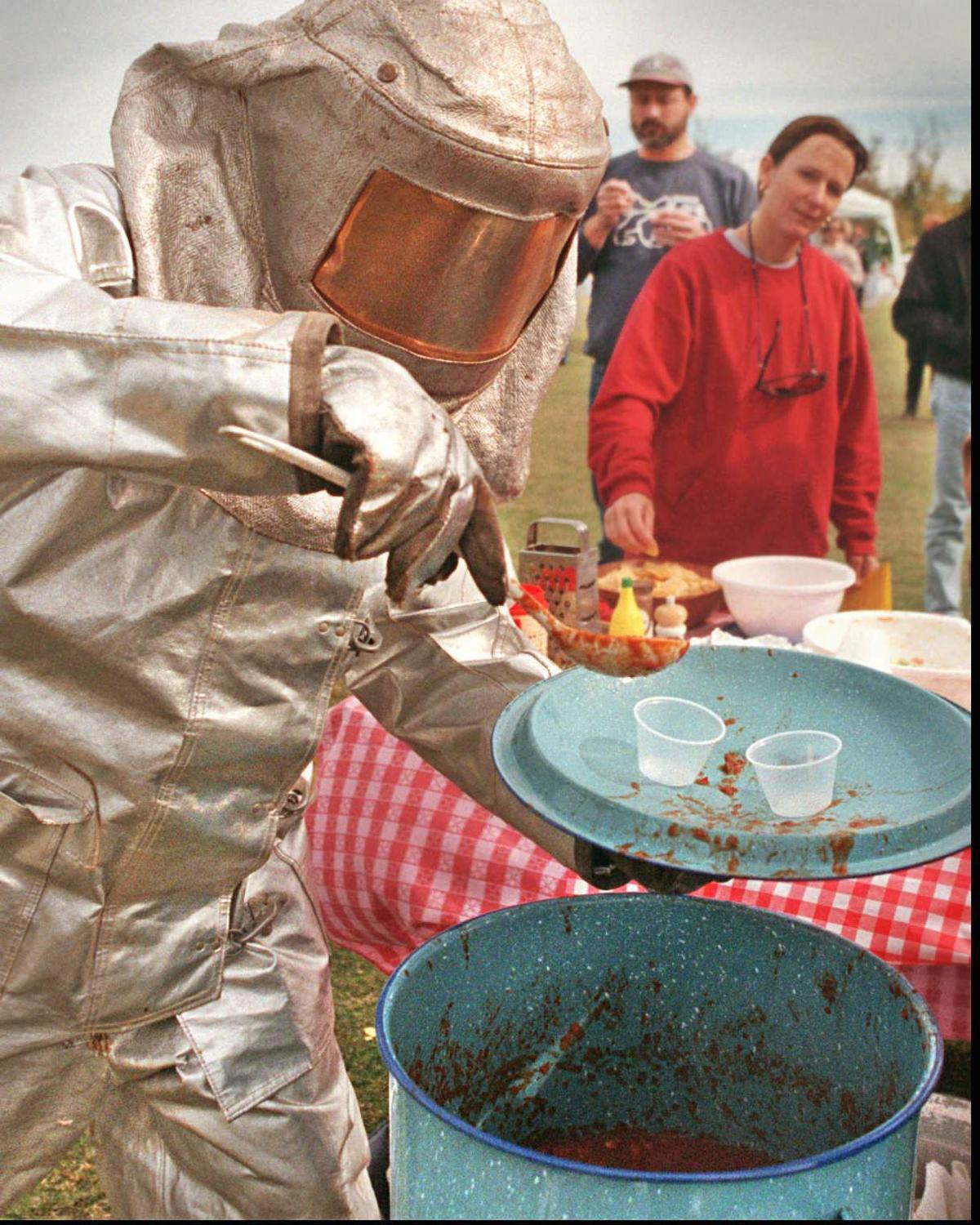 Chili Cook-Off fire suit