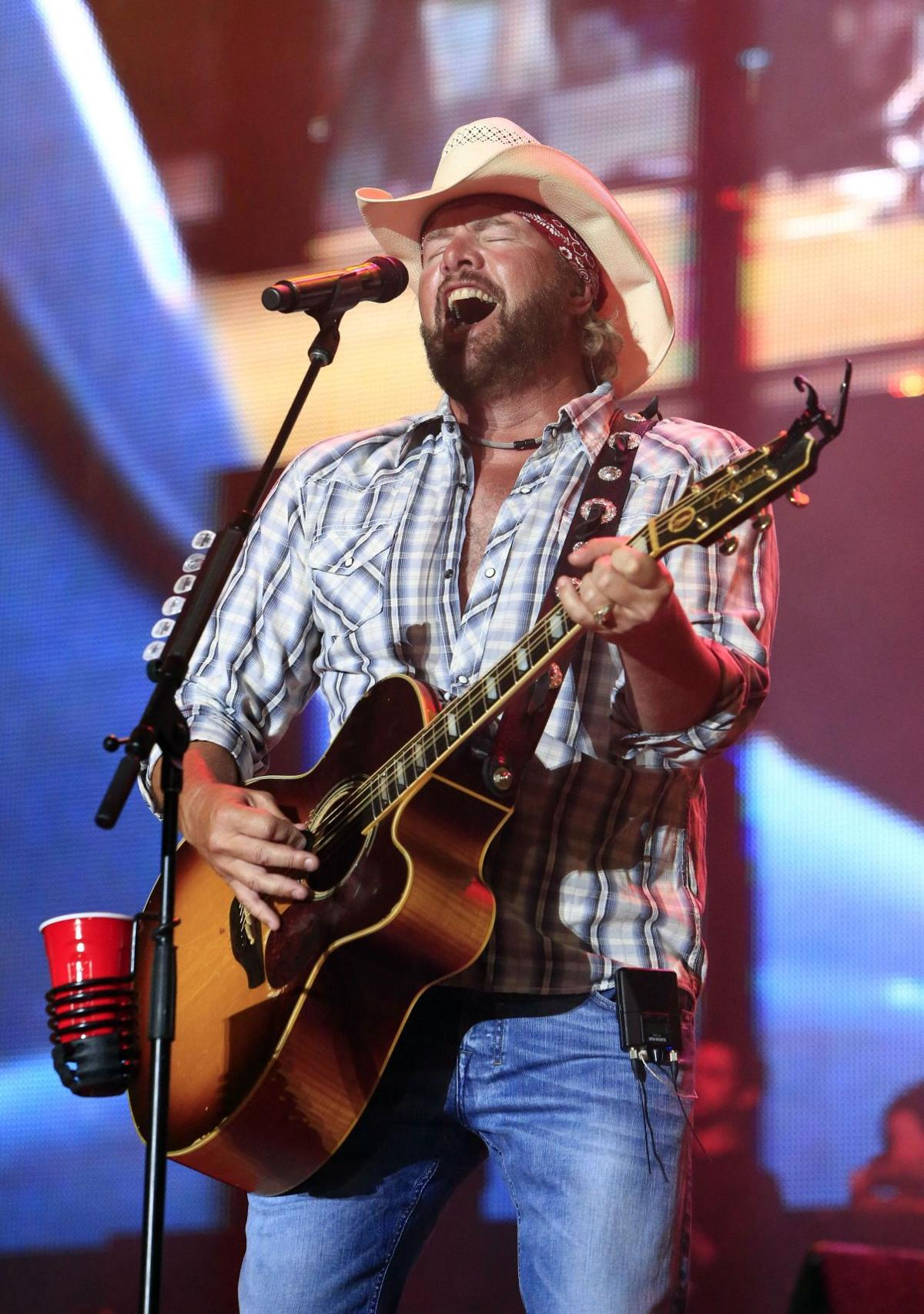 Toby Keith raises $2M for disaster