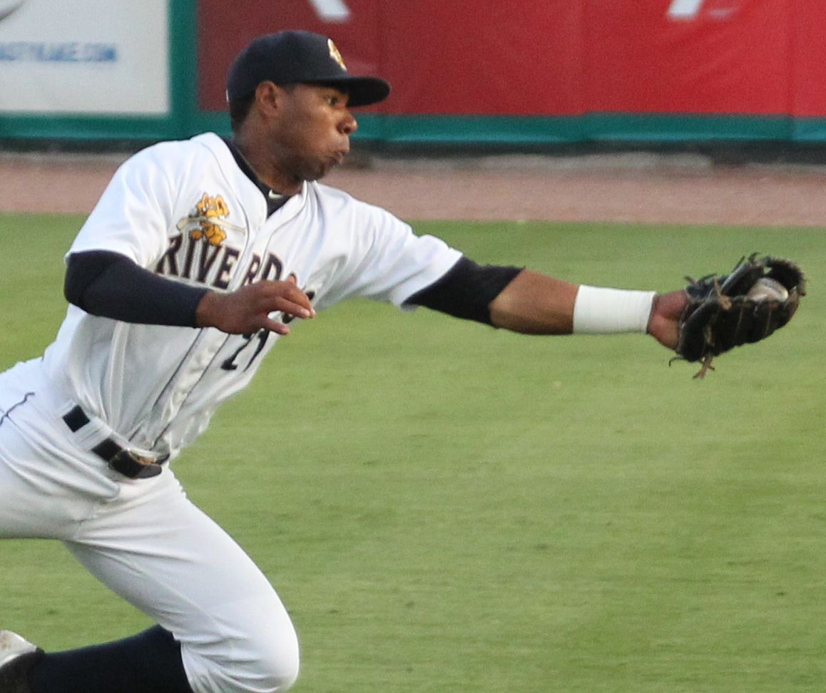 Charleston RiverDogs second baseman Angelo Gumbs making a name for himself
