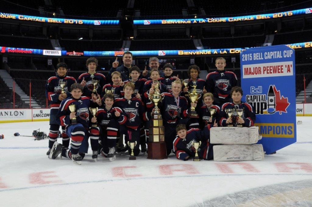 Junior Stingrays capture ice hockey tournament in Canada