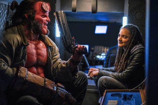 Review: If you're not a superfan, 'Hellboy' is hell, boy