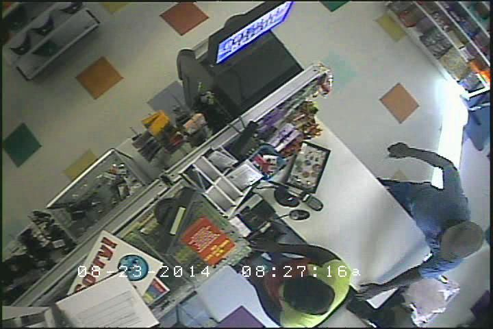 Camera footage shows robber who stabbed clerk at North Charleston dollar store