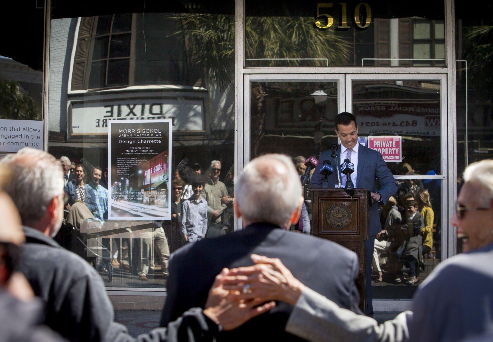 Charleston Block Dedicated To Longtime Furniture Operator Sokol And Family  | Business | Postandcourier.com