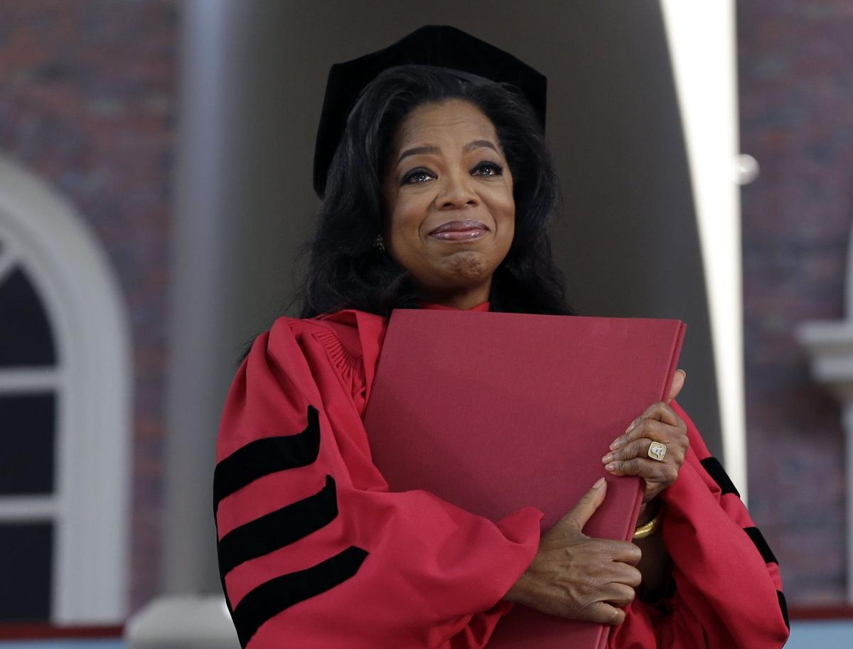 Oprah: Learn from mistakes