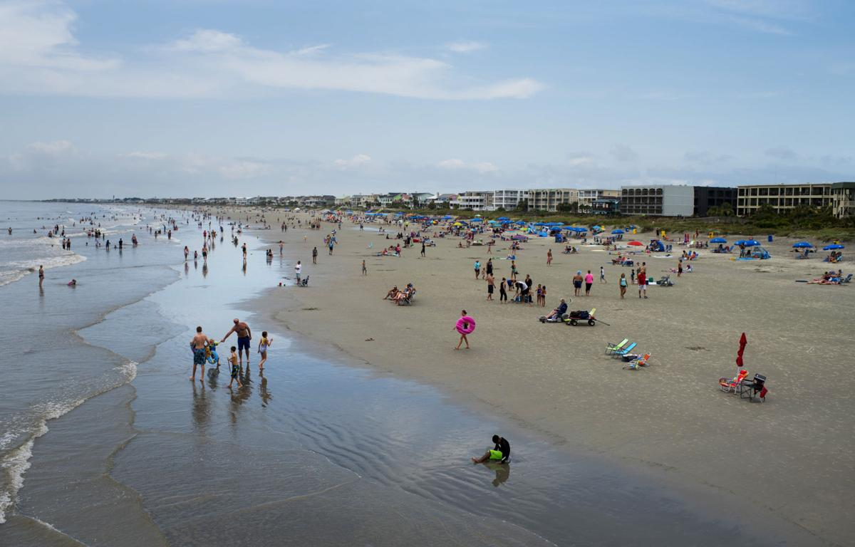 Isle Of Palms Swim Team To Clean Up Beach After Total Solar Eclipse