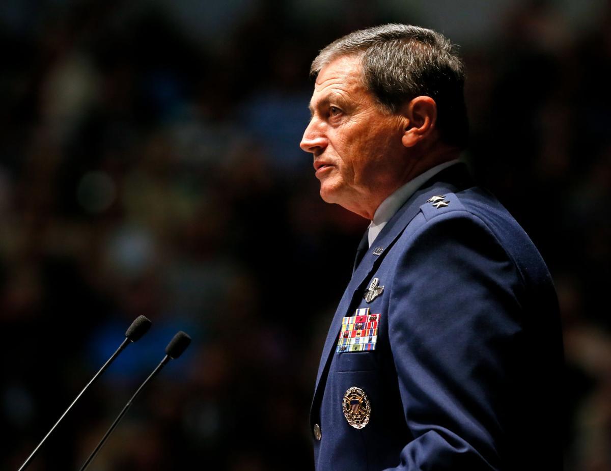 2a7592f23 Citadel President Lt. Gen. John Rosa announces he will retire on ...