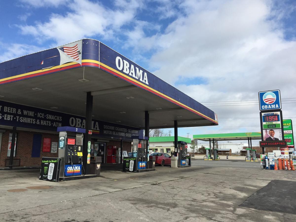 Columbia's landmark 'Obama' gas mart shrugs off Donald Trump's