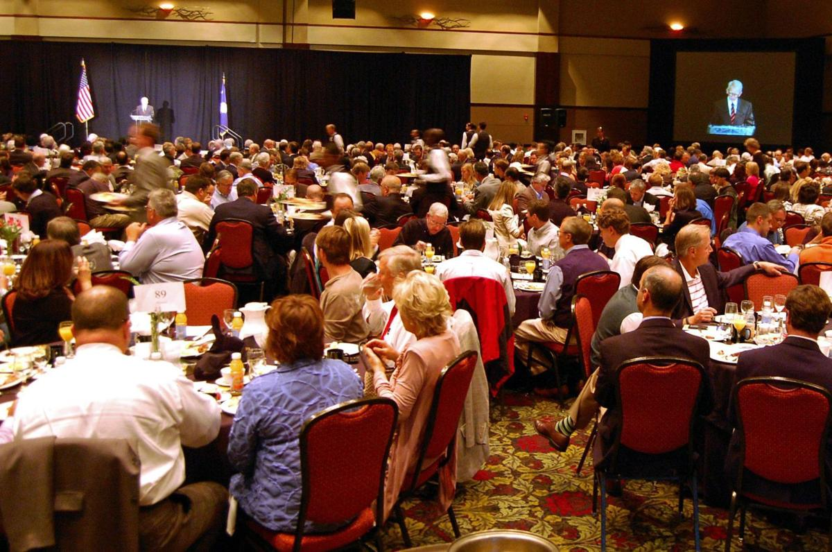 Golfer Tom Lehman offers keynote at annual prayer breakfast