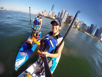 Paddleboarders make holiday stop in NYC-to-Key West trip