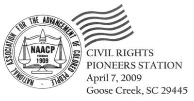 Goose Creek to issue civil rights postmark