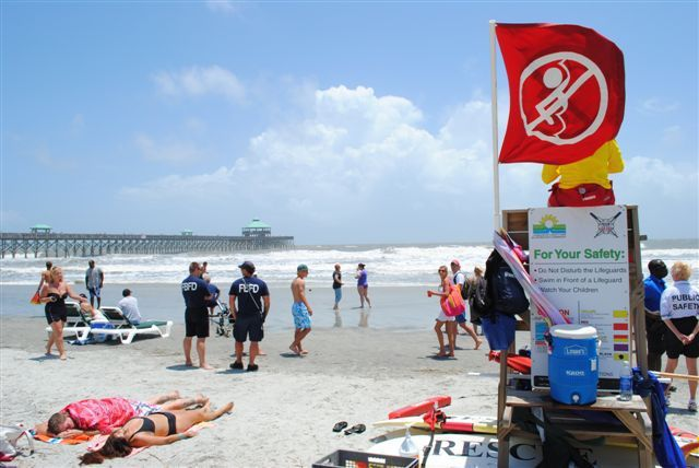 Authorities search for missing swimmer at Folly Beach
