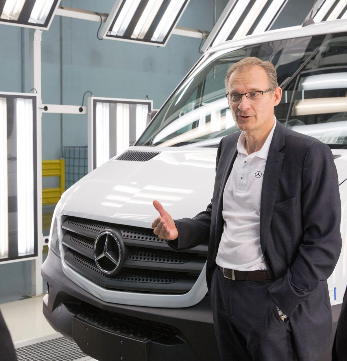 With charleston area vehicle makers ready to hire for Mercedes benz vans charleston