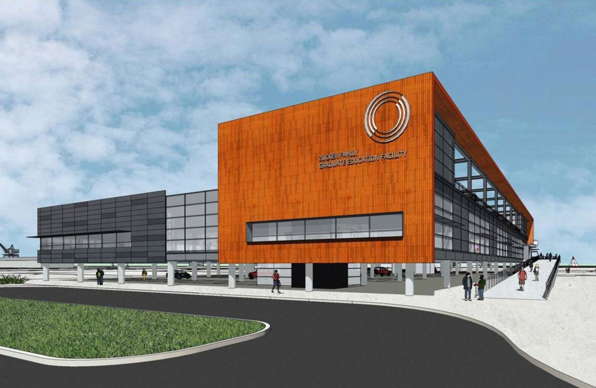 Clemson starts work on N. Chas. graduate center