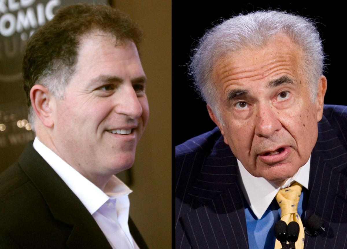 Billionaire Carl Icahn teams up with Southeastern Asset to challenge Dell takeover plan