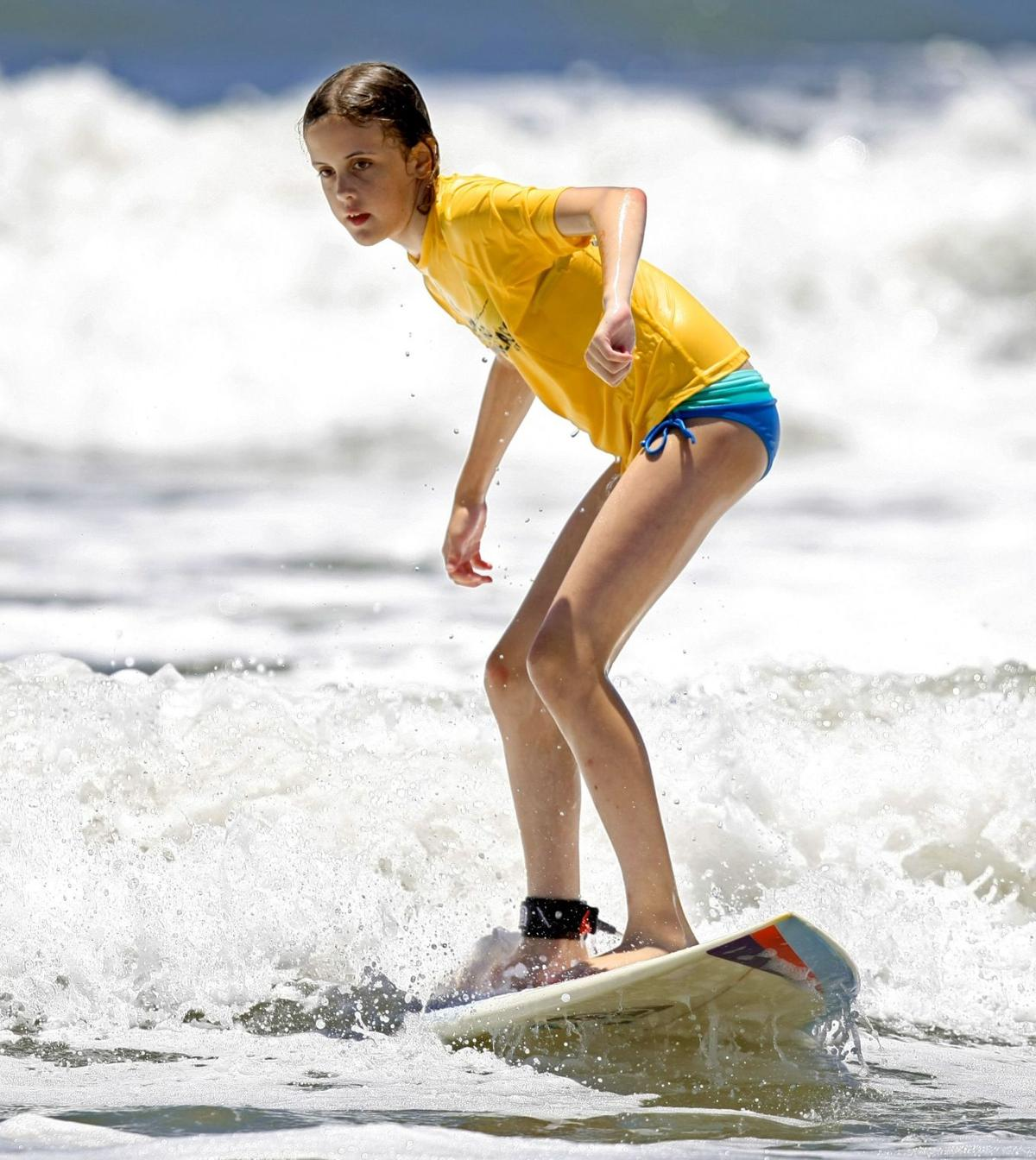 Wahine Classic surfing results