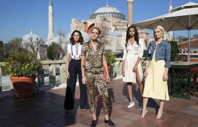CORRECTION Film Review-Charlie's Angels