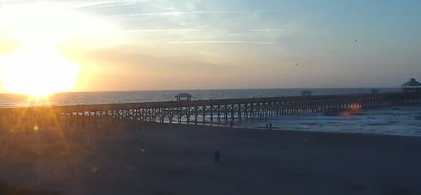 Mostly sunny, breezy and warm today in Charleston