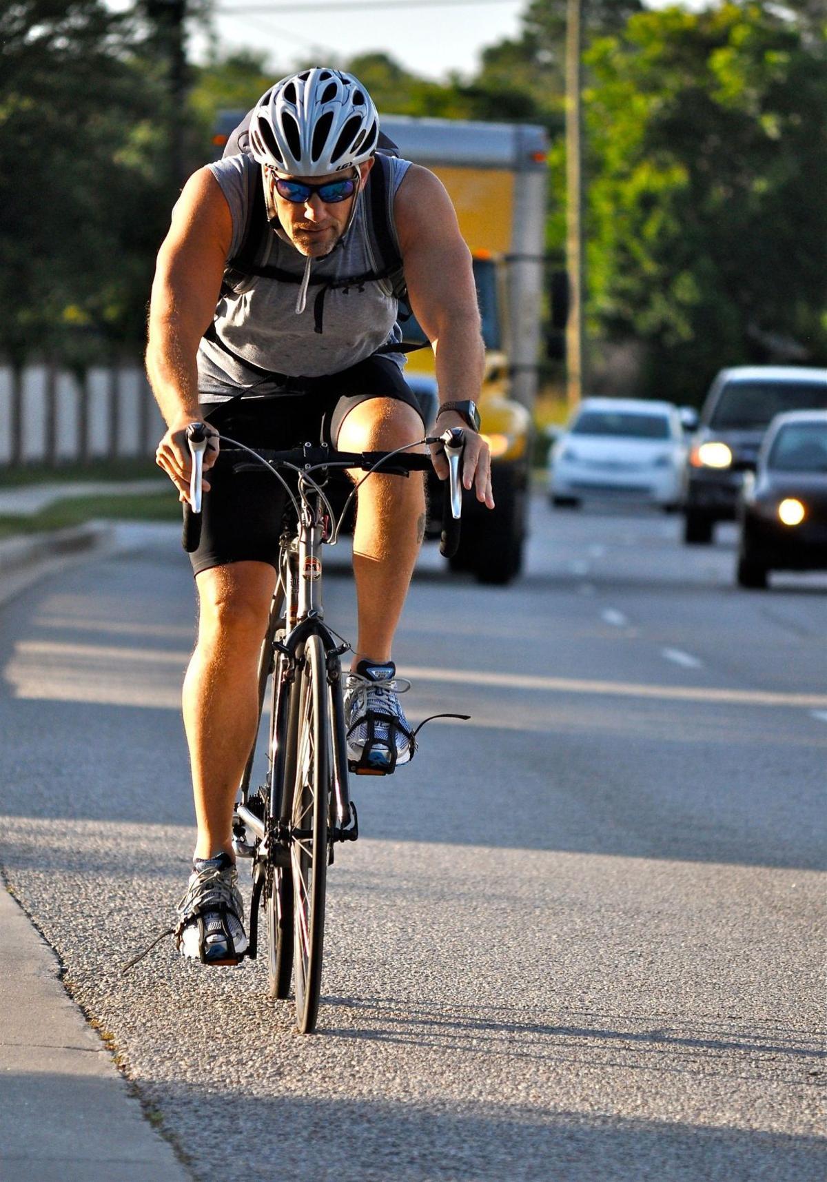 Advance safe biking to beach