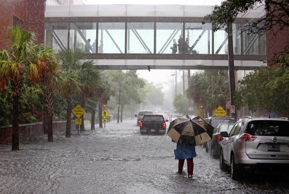 Rep. Joe Cunningham files bill to combat Charleston flooding. The idea? Let the VA help