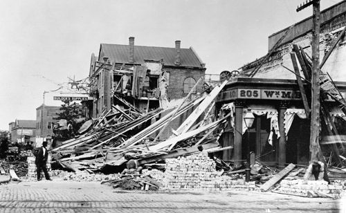 Looking back at the earthquake of 1886