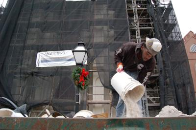 Holy City landmarks get critical care