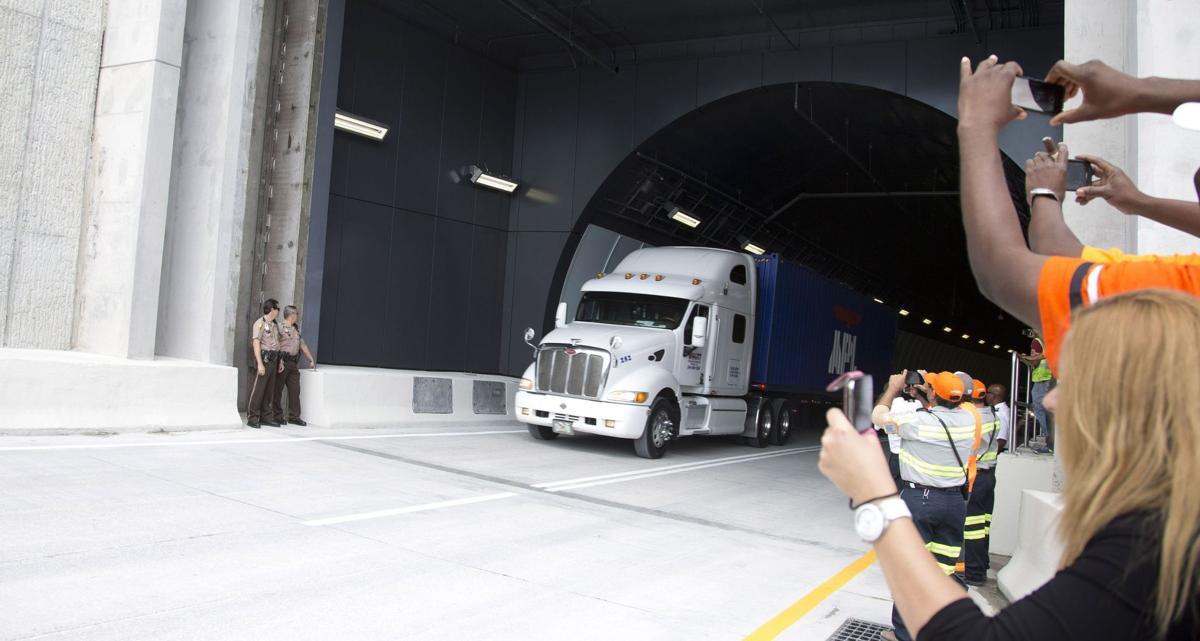 Miami port tunnel nears opening