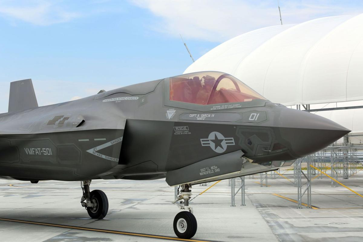 First new joint strike fighter arrives in Beaufort