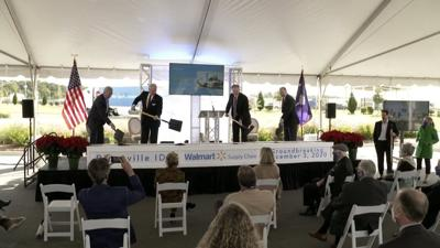 Gov. McMaster participates in groundbreaking for Walmart's Dorchester County distribution center