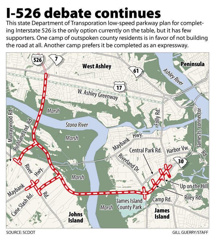 County Council: Further study needed on I-526 completion