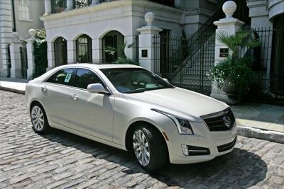 Good Sport Brand New Cadillac Ats Sedan Counts On Flashy Looks