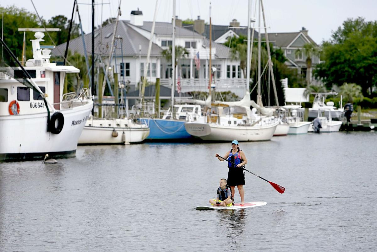 Sullied Shem Creek Waterkeeper says it's too polluted to swim, urges faster cleanup