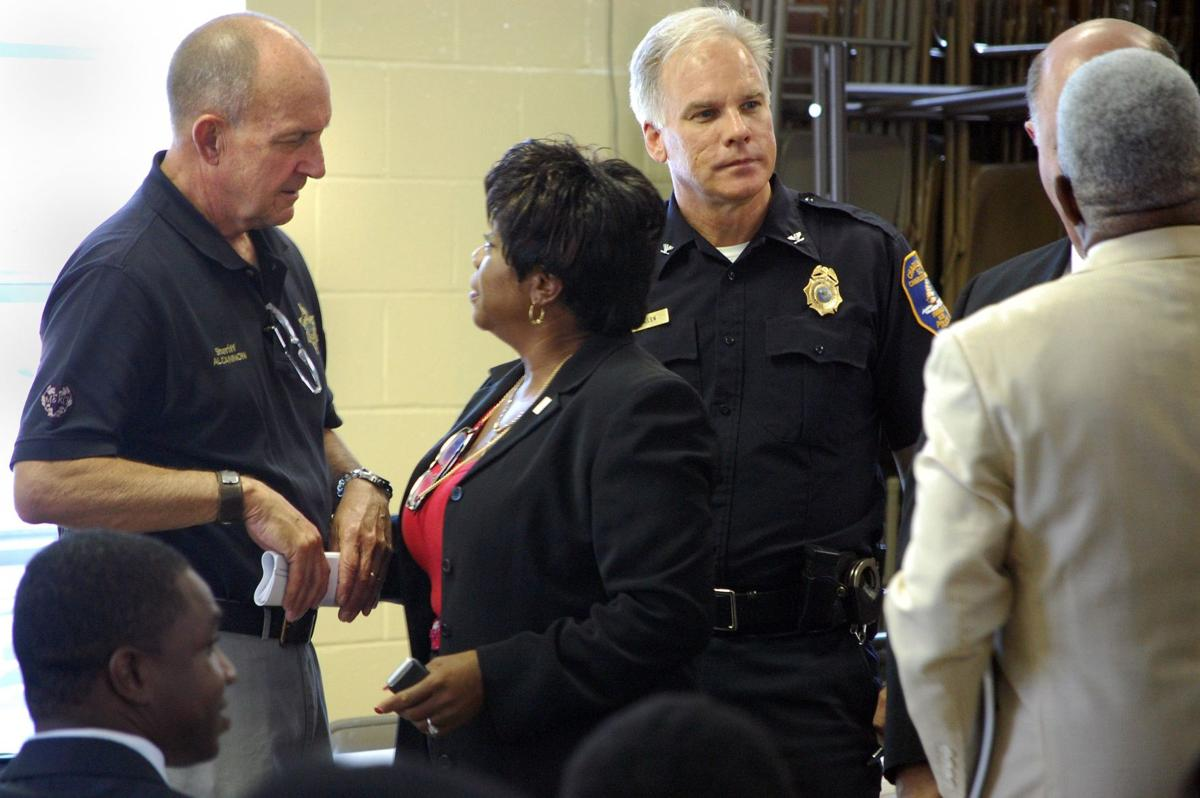 Racial profiling concerns topic of town hall meeting
