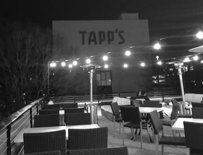 Hendrix rooftop with Tapp's view