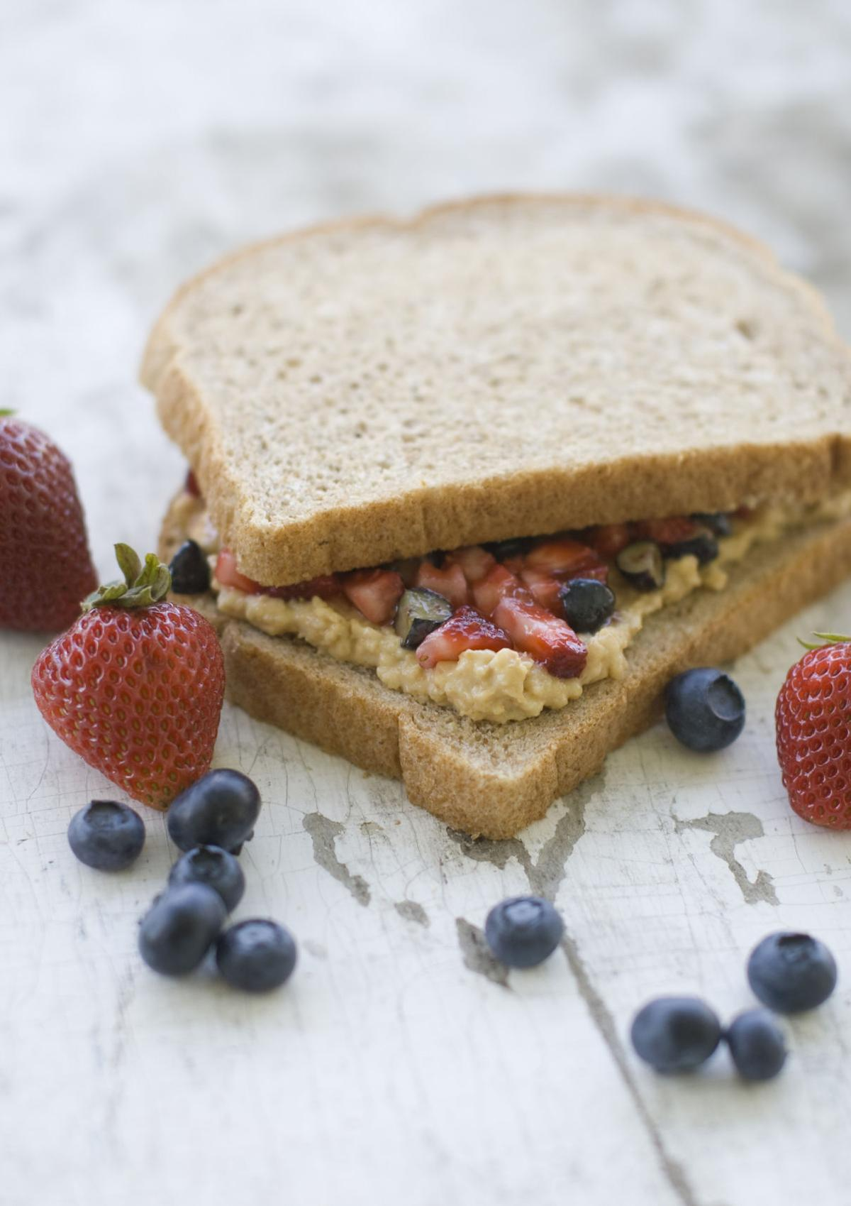 Popular PB&J sandwich gets a healthy makeover