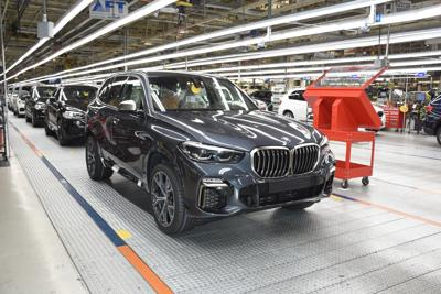 BMW x5 production