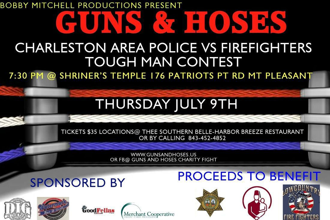 Guns and Hoses fundraiser set for deputy recovering from shooting