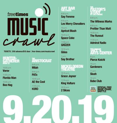 Music Crawl Lineup 2019