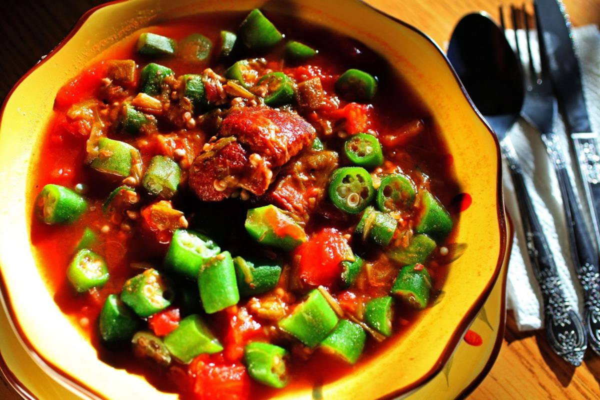 'Simple' okra soup a Lowcountry staple