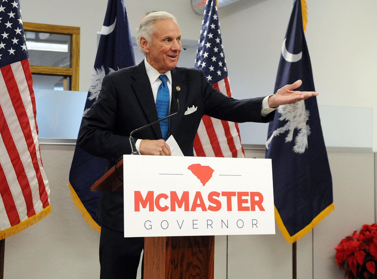 Henry McMaster and Pamela Evette In Greenville (copy)