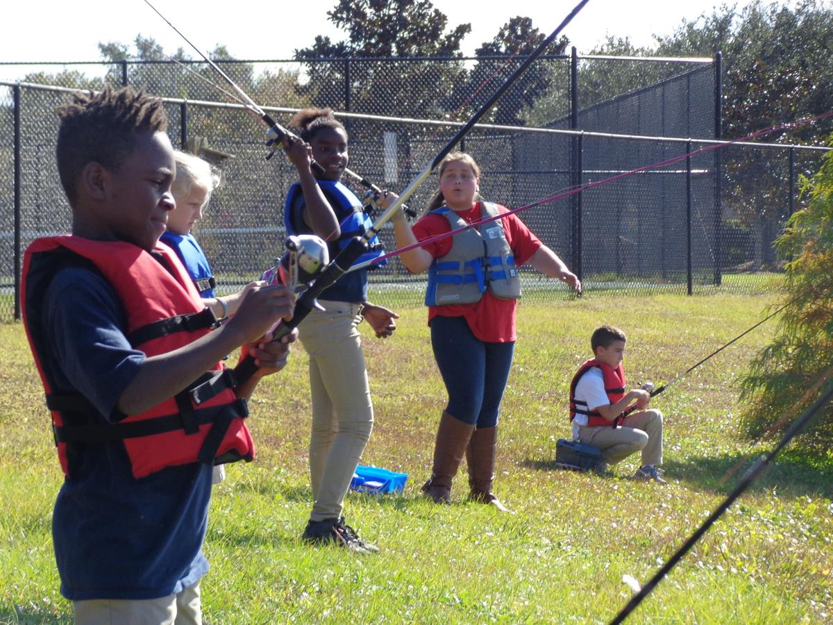 James island elementary 39 s after school fishing program for The fishing school