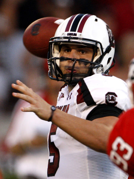 What's wrong, Garcia? South Carolina ranked No. 10 despite QB regression