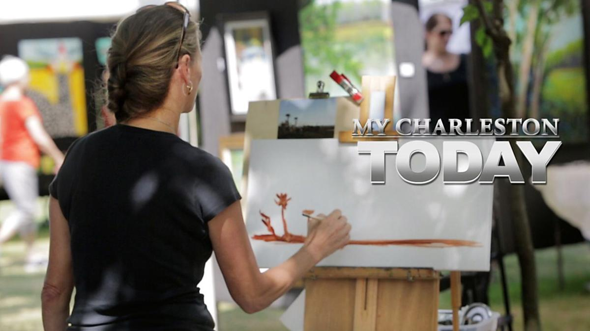 My Charleston Today: Artists displaying their work in Marion Square