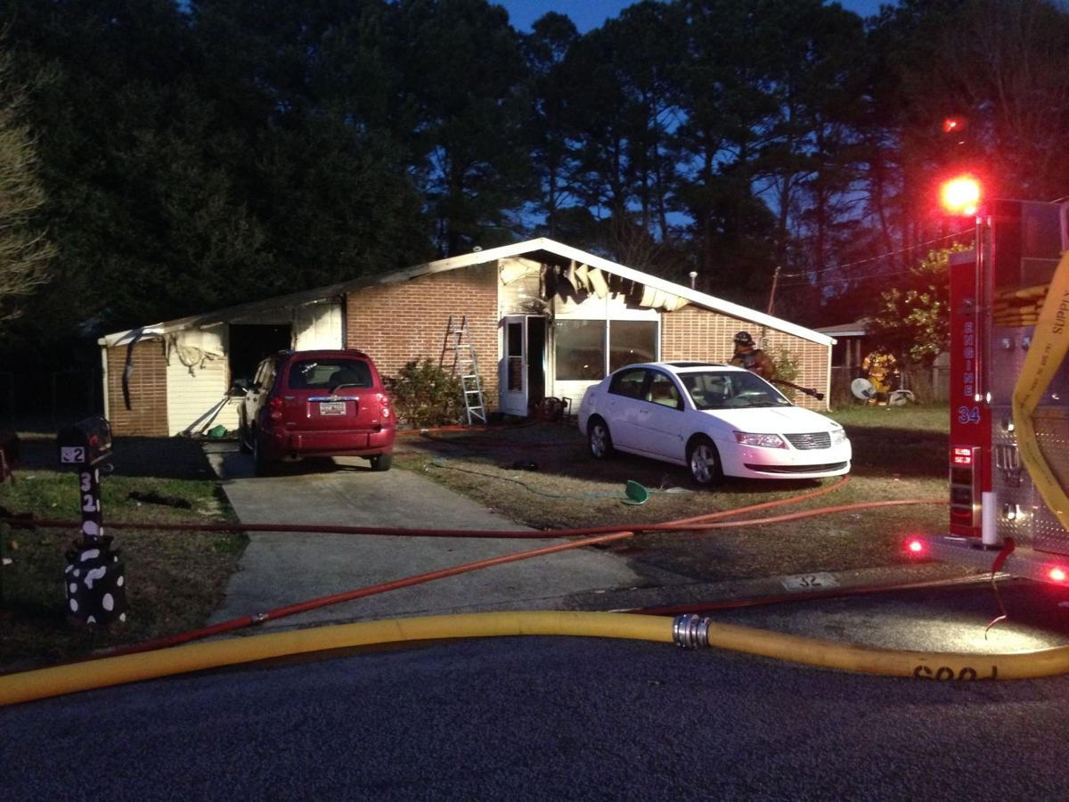 Meth lab explosion suspected after house near Goose Creek bursts into flame