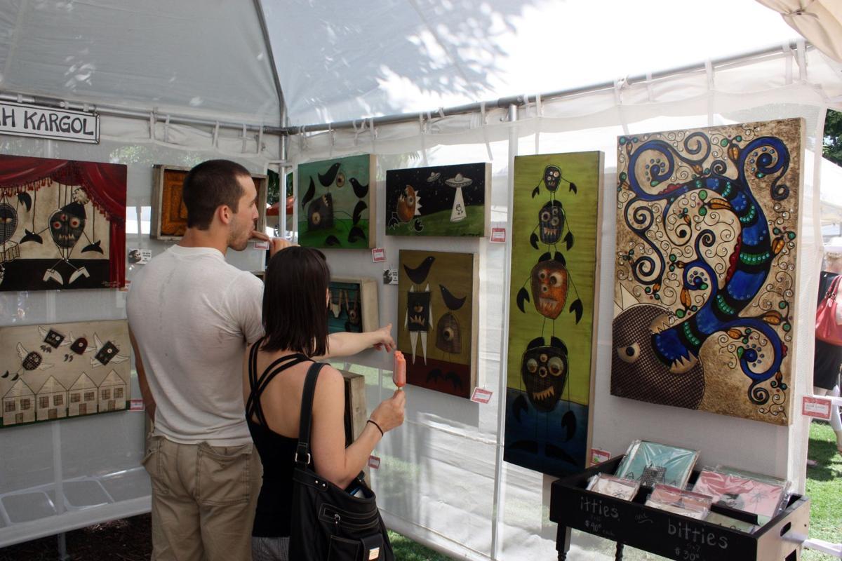 Festivals offer free art exhibits