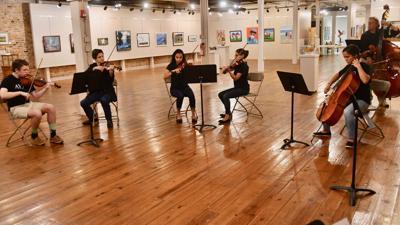 Aiken Center for the Arts recognizes Aiken Youth Orchestra seniors