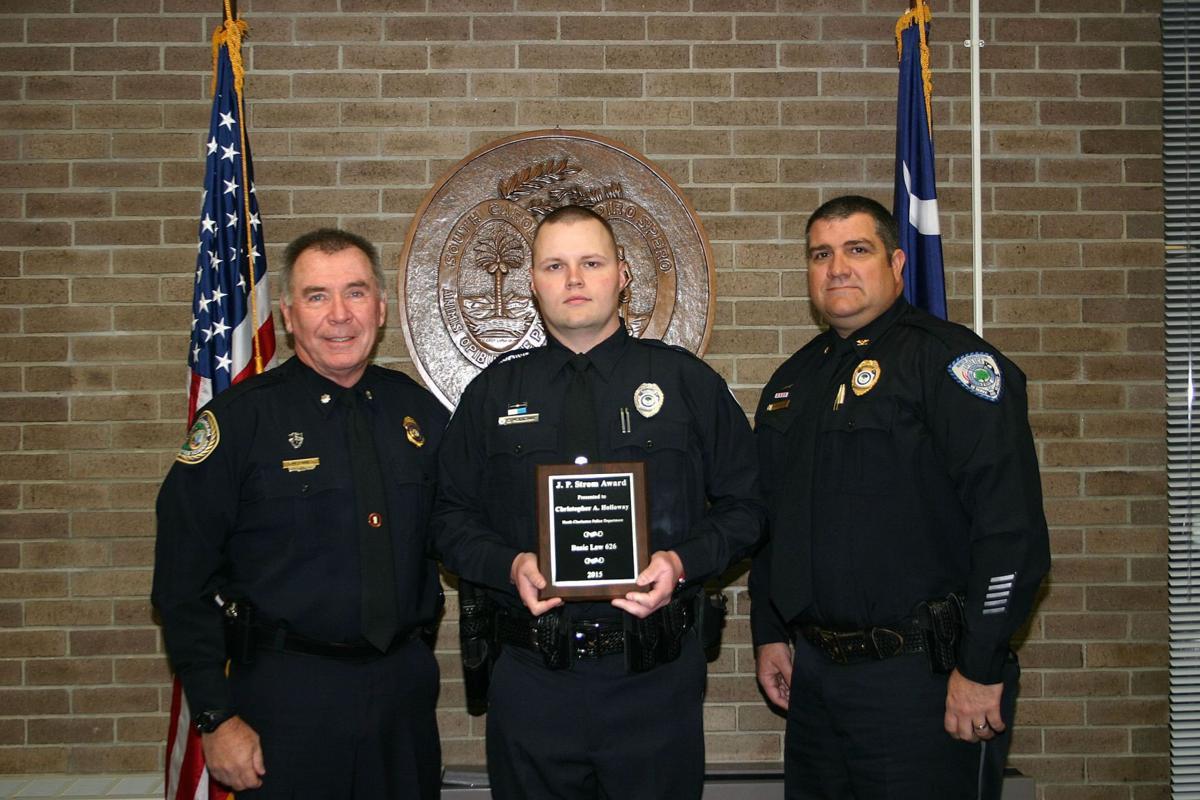 Charleston-area officers recognized for academic excellence