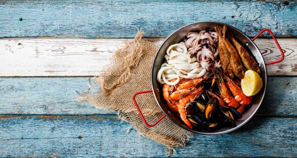 Seafood assorted platter (copy)